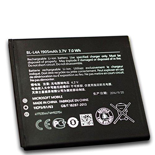 Glitzy Gizmos originale Nokia Microsoft Lumia batteria BL L4A bl-l4a 1905mAh 7.0Wh 3.7V per Lumia 535/Dual SIM (nessuna vendita al dettaglio)