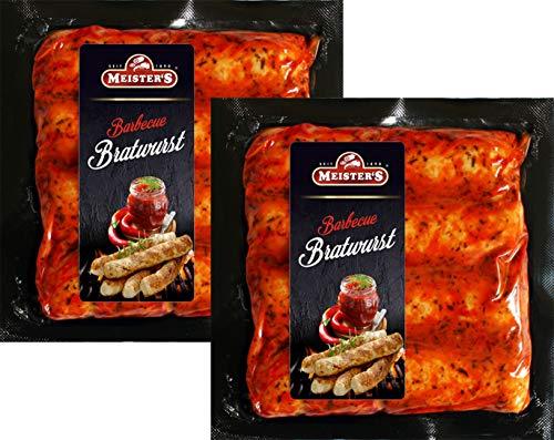 Grillpaket Barbecue Bratwurst mit BBQ Marinade American Grill Geschmack | Wurst zum Grillen mit würziger Grillmarinande (2)