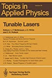 Tunable Lasers (Topics in Applied Physics (59))