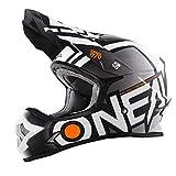 O'NEAL 3 Series Motocross Enduro MTB Helm Radium schwarz/weiß/orange 2018 Oneal: Größe: L (59-60cm)