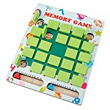 Huaxingda Memoria de madera juego juego educativo inteligente juegos lógica brainteaser actividad juguetes niños memoria partido Flip tablero de ajedrez