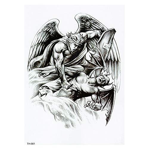 Schulter engel tattoo teufel Engelchen und