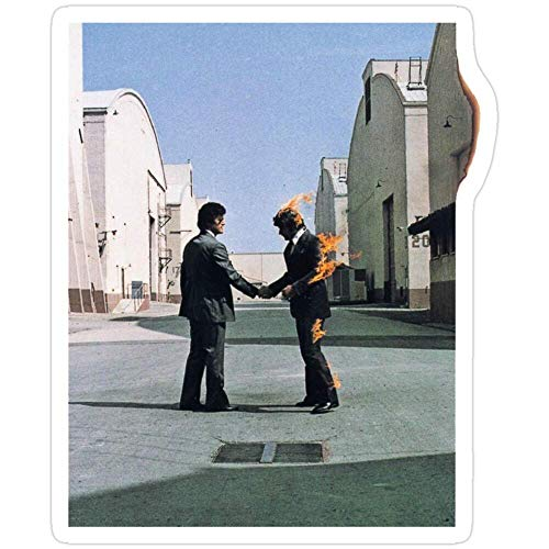 Vinyl Sticker for Cars, Trucks, Water Bottle, Fridge, Laptops Wish You were here - Pink Floyd Stickers (3 Pcs/Pack)