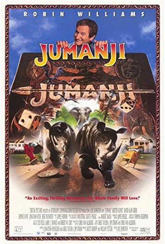 Jumanji Poster Movie (27 x 40 Inches - 69cm x 102cm) (1995) (Style C)