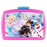 P:OS 24936 - Lunchbox Motivo Inserto da Disney Frozen, 16 x 12 x 6,5 cm