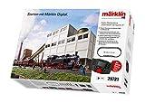 Märklin 29721 Güterverkehr III digital-Startpackung Personenzug Epoche 6, Modelleisenbahn, viele Soundfunktionen, mit Mobile Station und C-Gleis Schienen, Spur H0