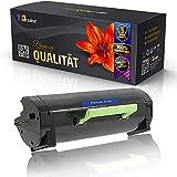 Cartucho de tóner compatible con Lexmark MS321 Series MS321 dn MS321 dntw MS421 Series MS421 dn MS421 dw 56F2000, color negro