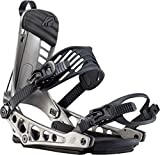 K2 Cinch TS 2020 - Fijaciones de snowboard para hombre, Unisex adulto, metal oscuro, medium