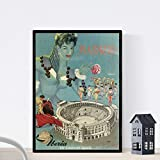 Nacnic Vintage Poster Vintage Poster Europa. Reisen nach