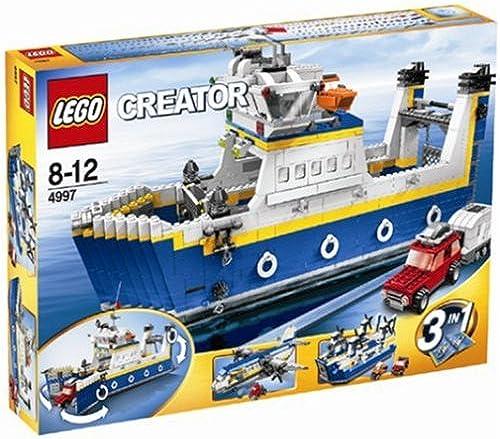 Esperando por ti LEGO LEGO LEGO Creator 4997 Transporte Ferry  echa un vistazo a los más baratos