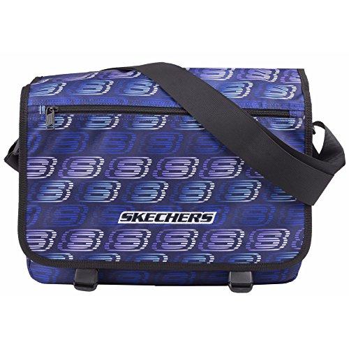 Skechers - Mochila bandolera modelo Original Unisex (Talla Única/Azul)
