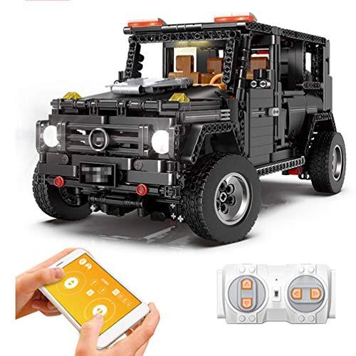 DIY Model Auto, Klassieke Afstandsbediening Auto, APP Programmeringscontrole Decoratie, Editie Puzzel Decoratie Collector's