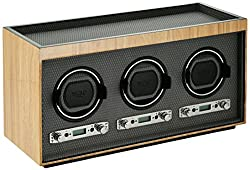 This image shows WOLF 453728 Meridian which is the best triple watch winder in my review