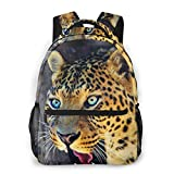 LNLN Mochila de mochileroRoaring Leopard Fashion Outdoor Shoulders Bag Durable Travel Camping Backpack For Adult