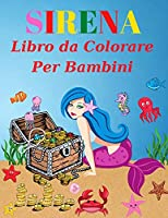 Sirena libro da colorare per i bambini: Età 4-8(Libri da colorare per bambini)