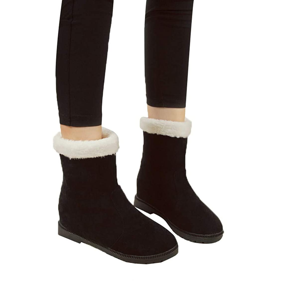 影響を受けやすいですステッチゲートウェイ[ショートブーツ] レディース wileqep 春秋冬 スノーブーツ ブーツ マーチンブーツ 編み上げ ジッパー レースアップ 編み上げ 大きいサイズ プラッシュ コスプレ 痛くない 靴 スクエアヒール カジュアル 人気 可愛い 歩きやすい ぺたんこ靴