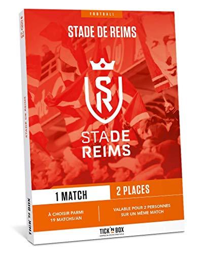 Tick&Box - Coffret Cadeau Places Match Foot Stade de Reims