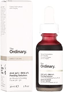 The Ordinary AHA 30% + BHA 2% Solución de Peeling 30 ml