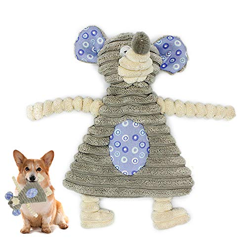 Dog Squeaky Toys, Interactive Squeaky Toy, Small Stuffed Puppy Chew Toys with Cotton Material , Cute Soft Pet Toy for Small Medium Size Dogs