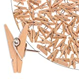 Push Pin Clips - 30 Paper Clips with Pin for Documents/Artworks/School Projects/Photos/Notes/Papers/Cork Board/Bulletin Board - No Holes for The Paper