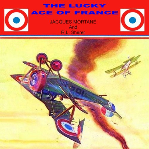 The Lucky Ace of France audiobook cover art