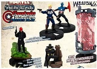 Marvel HeroClix Captain America ClixBrick 10 Booster Packs