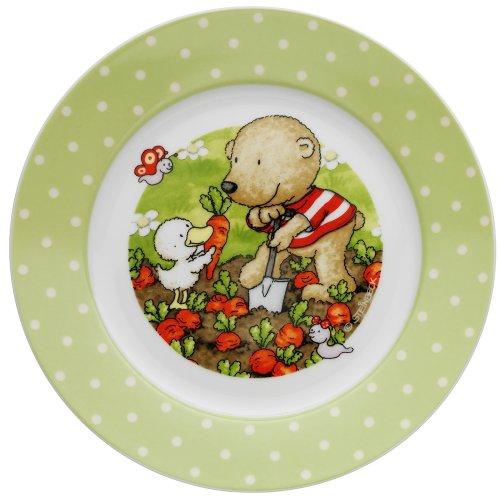WMF Pitzelpatz Kindergeschirr Kinderteller, Ø 19,0 cm, Porzellan, spülmaschinengeeignet, farb- und lebensmittelecht