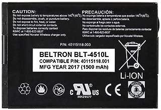 BELTRON New Replacement Battery Novatel MiFi 4510 4510L Mobile Hotspot - P/N: 40115118.001 40115118.003