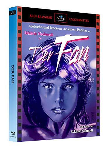 Der Fan - Mediabook Cover A - Limitiert auf 250 Stück (mit Bonus-Blu-ray BRAINSMASHER)