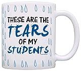 Teacher Gifts Tears of my Students Funny Coworker Gag Gift Coffee Mug Tea Cup Tear Drops
