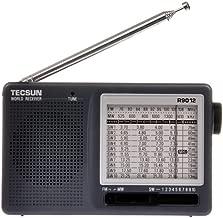 TECSUN R-9012 AM/FM/SW 12 Bands Shortwave Radio Portable Receiver Gray