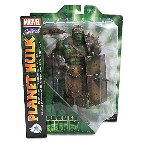 Marvel Select USA Disney Store limited action figure Planet Hulk / MARVEL SELECT PLANET HULK [parallel import goods] Thor battle royal
