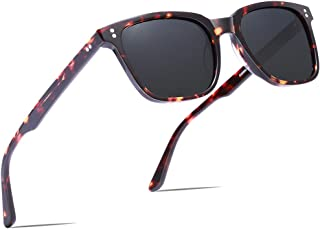 Carfia Chic Retro Polarized Sunglasses for Women UV400 Protection Driving Outdoor Eyewear