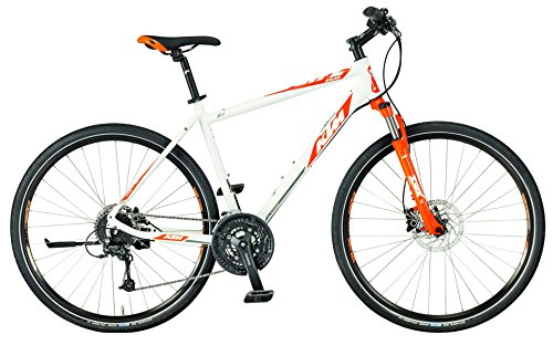 KTM Life Road HE Crossrad 2017 weiss orange grau, RH 46, 14,80 kg
