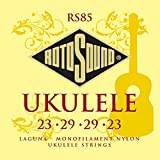 Rotosound RS85 - Juego de cuerdas para ukelele de nylon
