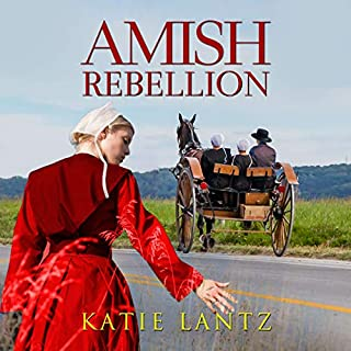 Amish Rebellion audiobook cover art