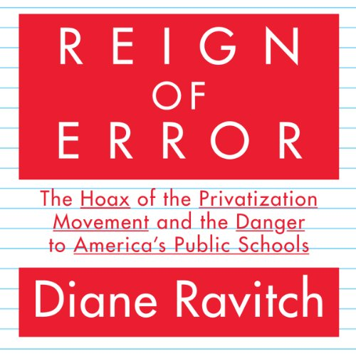 Reign of Error audiobook cover art