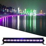 18W Dimmerabile LED bar Luce Effetto UV,Luce di Palco Luci da discoteca,9/12LED Lampada di...