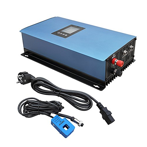ECO-WORTHY 1000W Solar Power on Grid Inverter w/Limiter Wechselrichter Mppt DC22-65V