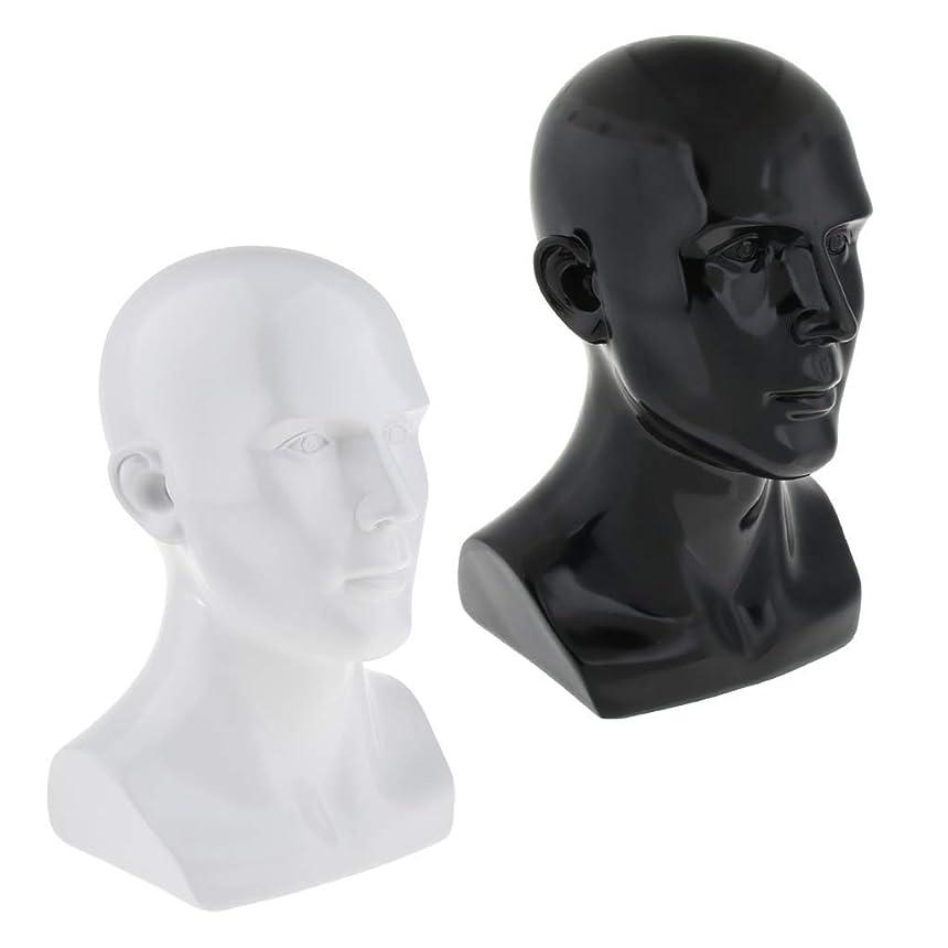 承認するパウダー潜水艦FLAMEER マネキンヘッド トルソー 頭部 モデル 樹脂 スタンド 帽子 眼鏡 ディスプレイ 店舗 自宅 2個入