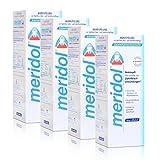 4x Meridol Mundspülung Zahnfleischschutz 400ml - ohne Alkohol -
