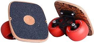 Drift Skates Freeline Portable Board Adult Children Split Skateboard Travel Brush Street Straight Row Road Plate, A