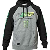 Fox Fleece-Hoodie Monster Pro Circuit Grau Gr. S