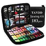 TANDD 183pcs Sewing Kit
