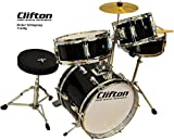 Clifton Junior Kinder Schlagzeug Drum Set inkl. Hocker und Sticks