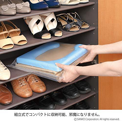 『サンコー 非常用 簡易トイレ 日本製 組み立て簡単 耐荷重120kg 携帯 R-58』の1枚目の画像