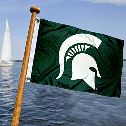 College Flags & Banners Co. MSU Spartans Boat and Nautical Flag