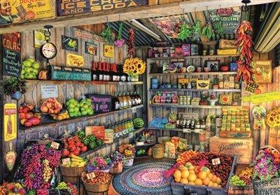 Tienda de Comestibles Puzzle, 2000 Piezas, Multicolor, 2.000 (17128)