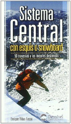 Sistema central con esquis o snowboard - 50 travesias