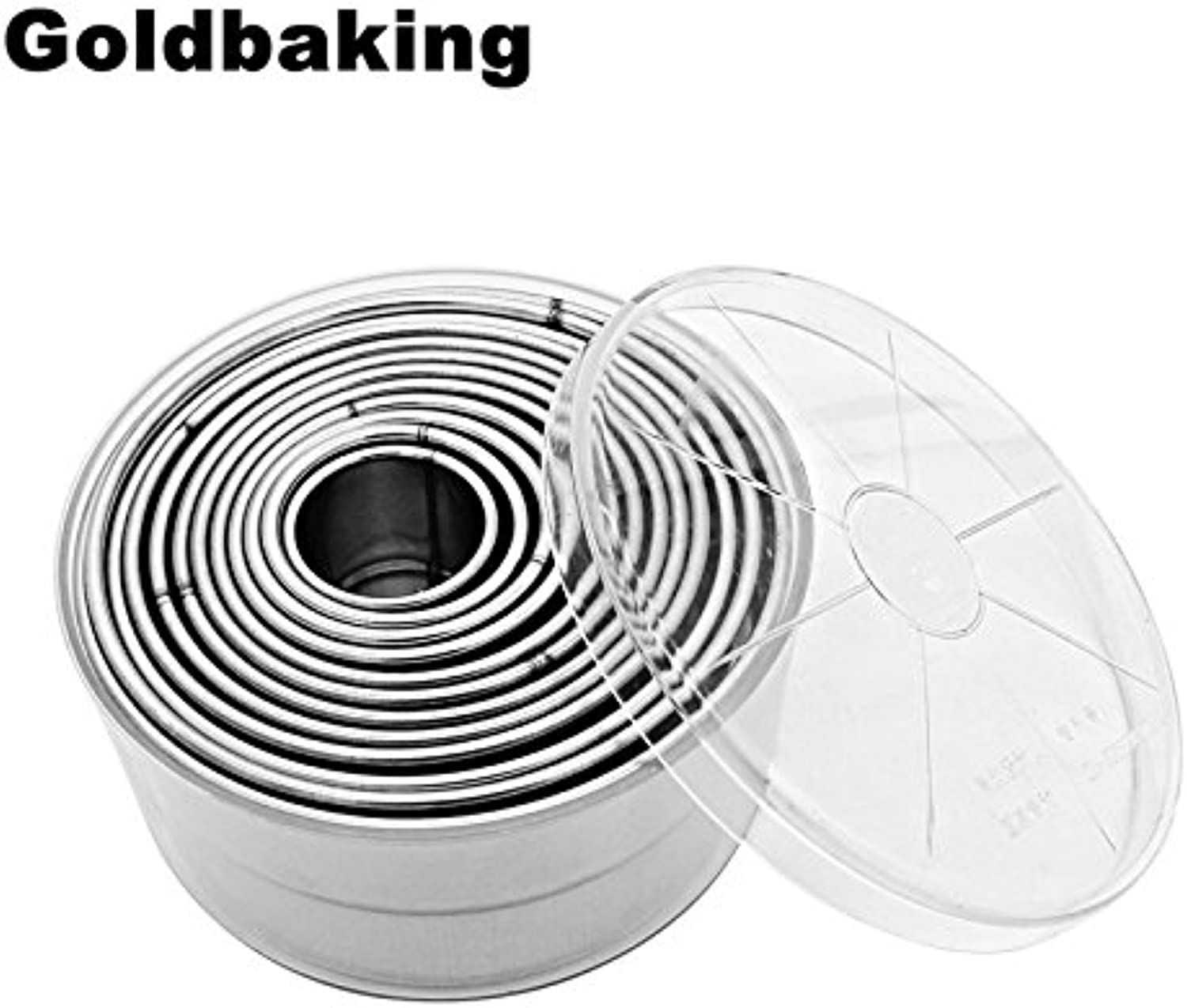 Stainless Steel Round Smooth Buscuit Mould Cookie Cutters